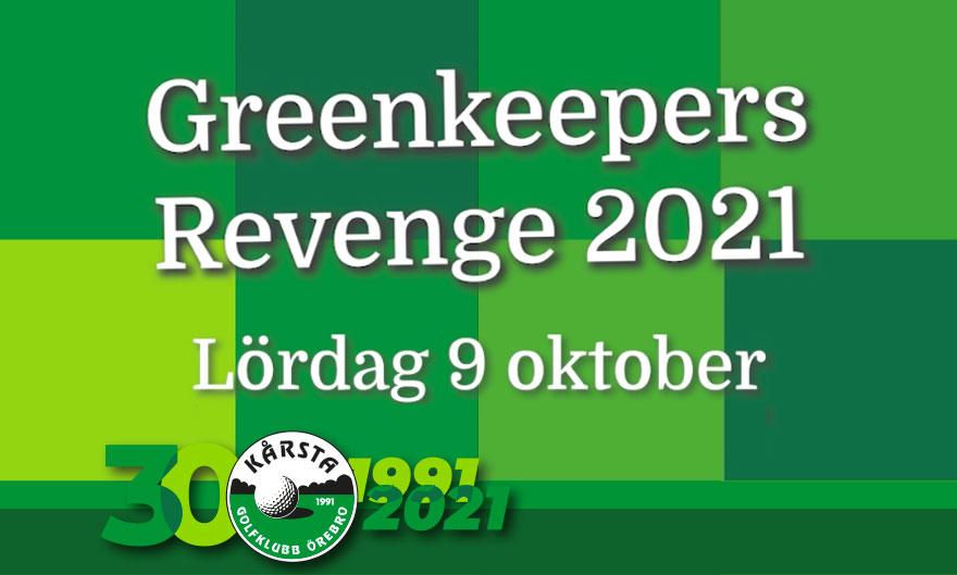 Greenkeepers revenge 2021 – ha!!